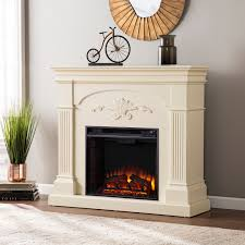 Harper Blvd Gilbert Ivory Electric Fireplace Free Shipping Today