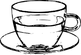 Cup Glass Saucer Tea Coffee