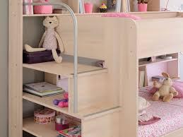 parisot bibop bunk bed in acacia with respa mattress duvet and