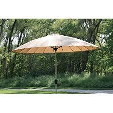Christy Sports Patio Umbrellas by Amazon Com 9 10 U0027 Outdoor Wind Resistant Patio Umbrella With
