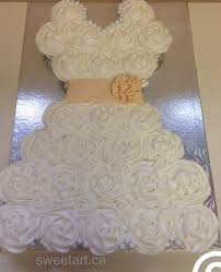 Bridal Shower Cupcakes And Cashmere Wedding Dress