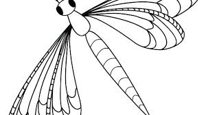 Dragonfly Coloring Page Book Pages Free Printable For Kids Pictures