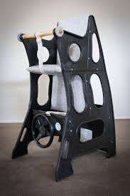 Black/AshGrey Highchair