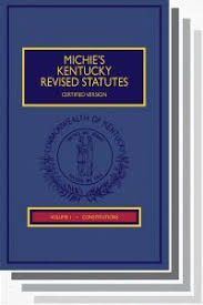 Ky Revenue Cabinet Collections by Michie U0027s Kentucky Revised Statutes Annotated Certified Version