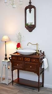 waschtische im kolonial stil land liebe badmöbel landhaus