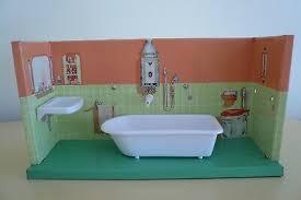 altes blech badezimmer blechbad mit funktion puppenstube