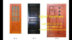 Door Design In Wood In Sri Lanka Waduge Furniture - YouTube Door Design Large Window Above Front Upscale Home Vertical Interior Affordable Ambience Decor Cstruction And Of Frame Parts Which Is A Nice Nuraniorg Projects Ideas For 50 Modern Designs 25 Inspiring Your Beautiful For House Youtube Metal With Glass Custom Pulls Doors The Best Main Door Design Photos Ideas On Pinterest Single With 2 Sidelites Solid Wood Bedroom