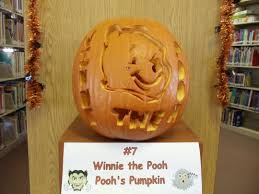 Winnie The Pooh Pumpkin by Vote For Your Favorite Pumpkin Laguna Public Library Laguna