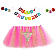 Baby 1st Birthday Highchair Tutu Skirt Honeycomb Balls Banne ... Tutu Tulle Table Skirts High Chair Decor Baby Shower Decorations For Placing The Highchair Tu Skirt Youtube Amazoncom 1st Birthday Girls Skirt Babys Party Ivoiregion Chair 44 How To Make A Pink Romantic 276x138 Originals Group Gold For Just A Skip Away Girl 2019 Lovely