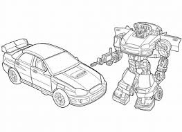 Transformers Coloring Pages Printable Animated Superhero