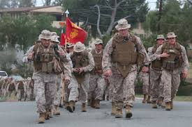 I Mef Dts Help Desk by I Mhg Conducts Hike To Strengthen Marines Unit Cohesion U003e I