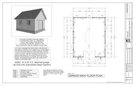 16x20 Gambrel Shed Plans by G391a 16 U0027 X 20 U0027 X 8 U0027 Bunkhouse Storage Shed Or Workshop Sds Plans