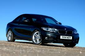 BMW 2 Series 220d road test pictures