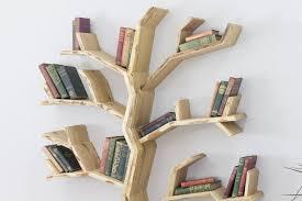 100 Tree Branch Bookshelves BespOak Elm Wood Bookshelf