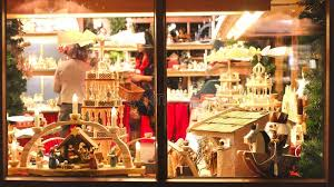 Download Vintage Toy Store Window Shop Christmas Market Background Editorial Photo