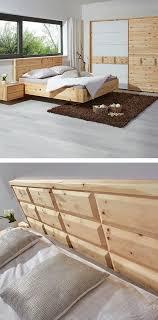 zirbenbett 180x200 rustikale schlafzimmermöbel zirbenholz