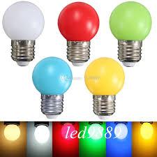 dhl home lighting colorful led bulb oule e27 3w energy saving