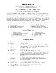 Qa Analyst Resume Sample Objective Assurance Example Download Tester Quality Examples