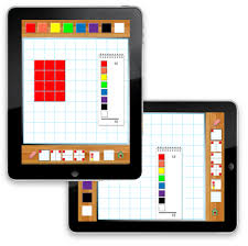 Virtual Algebra Tiles For Ipad by Hands On Math Interactive Color Tiles Ipad App