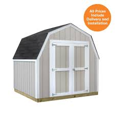 Home Depot Tuff Sheds by Sheds Usa Installed Val U Shed 8 Ft X 8 Ft Smart Siding Shed