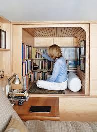 Book Storage Hack 5 Loft Bed Library