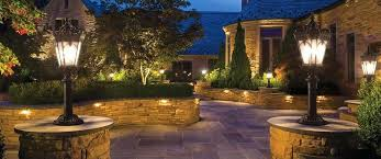 Contemporary Landscape Lighting Outdoor Path