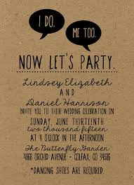 Rustic Trendy Hipster Wedding Invitation 2015 Kraft Paper Boho