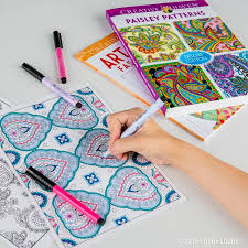 The Newest Form Of Stress Relief Coloring Books For Adults Express Your Creativity And