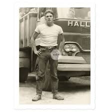 100 Gay Truck Drivers HUGE Bulge Driver Beefcake Physique Vintage Photo Interest