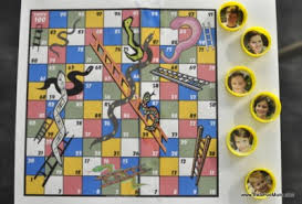Photo Board Game Pieces
