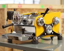 Custom Paint Body And Chrome Slayer Espresso Machine