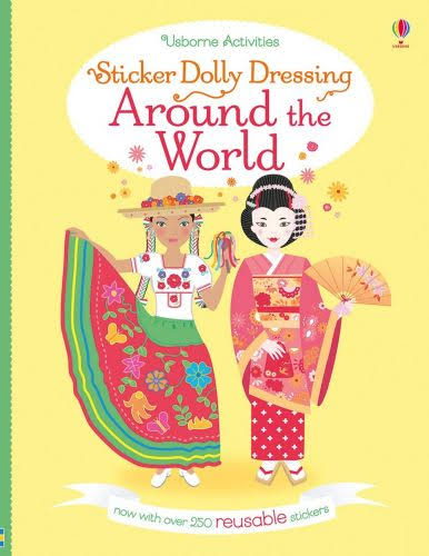 Sticker Dolly Dressing Around the World (Revised) [Book]
