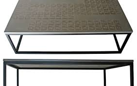 Make Outdoor End Table by Table Periodic Coffee Table In Cast Concrete 2 Awesome Concrete