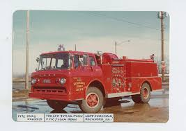 Amazon.com: 1976 Ford FMC John Bean Fire Truck Original Small Photo ...