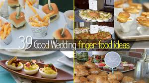 Stunning Finger Food Ideas For Wedding Reception Pictures