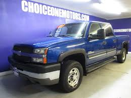 2004 Used Chevrolet Silverado 2500HD Crew Cab 4x4 6.6L Duramax ...