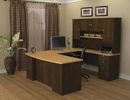 Sauder Heritage Hill 65 Executive Desk by Amazon Com Bestar Manhattan U Shaped Workstation Secret Maple