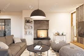 100 Interior Design Modern House Stock Illustration