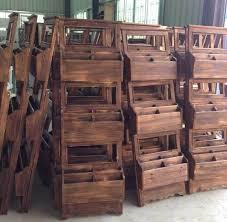 New Design Solid Wood Wall Display Rack Shelf