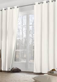 hessnatur thermo vorhang mit ösen aus reiner bio baumwolle