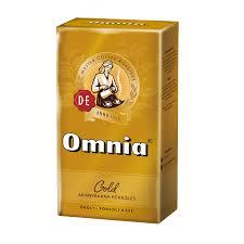 Douwe Egberts Omnia 250 G Gold Roasted Ground Coffee