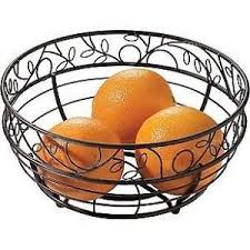TwigzTM Bronze Fruit Bowl Pretty Way To Display Find This Pin And More On Kitchen Decor Items