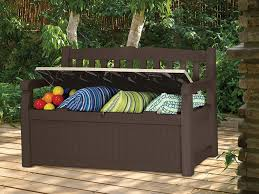 Suncast 50 Gallon Deck Boxstorage Bench by 9 Best Outdoor Storage Bench Reviews