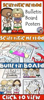 Scientific Method Bulletin Board Posters