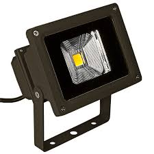 10 watt led flood light fixture with bracket mount