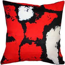 Red Decorative Pillows by Designer Throw Pillows Red Pillows Pillow Décor Red Sofa