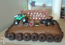 Coolest Homemade Monster Truck Cakes | Creative Ideas Monster Truck Cupcakes Archives Kids Birthday Parties Monster Truck Party Ideas At In A Box Cakes Decoration Little Fire Cake Wedding Academy Creative Coolest Car My Practical Guide Design Birthday Party Ideas Carters Bday Pinterest Laraes Crafty Corner What Ive Been Creatively Quirky Home May 2012 Monster Drink Banner