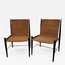 Frank Kyle - Pair Of Mexican Modernist Rosewood, Brass And Wicker Lounge  Chairs Wicker Lounge Chair Clearance Vista Details About Outdoor Patio Brown Chaise Pool Adjustable Back W Cushions Wicker Lounge Chair Ebel Lasalle Padded Pair Of Sculptural Chairs By Francis Mair Lloyd Flanders Tobago Telescope Casual Lake Shore Berkeley Set 2 Ludie Edgewater Rattan From Classic Model 4701 Multibrown W Ivory Ebay
