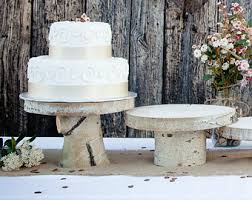 Innovative Ideas Rustic Wedding Cake Stands Peaceful Design Stand Etsy