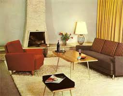 60s Style Decoration Living Room Decor Home Trends